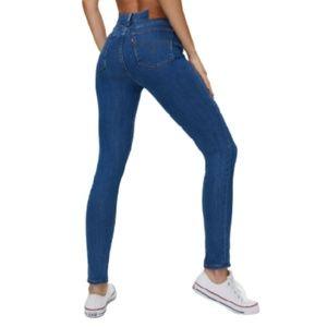 Levi's 721 High Rise Skinny Jeans Medium Wash 27